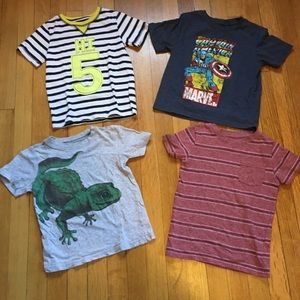 Boy's Short sleeve t-shirts size 4T